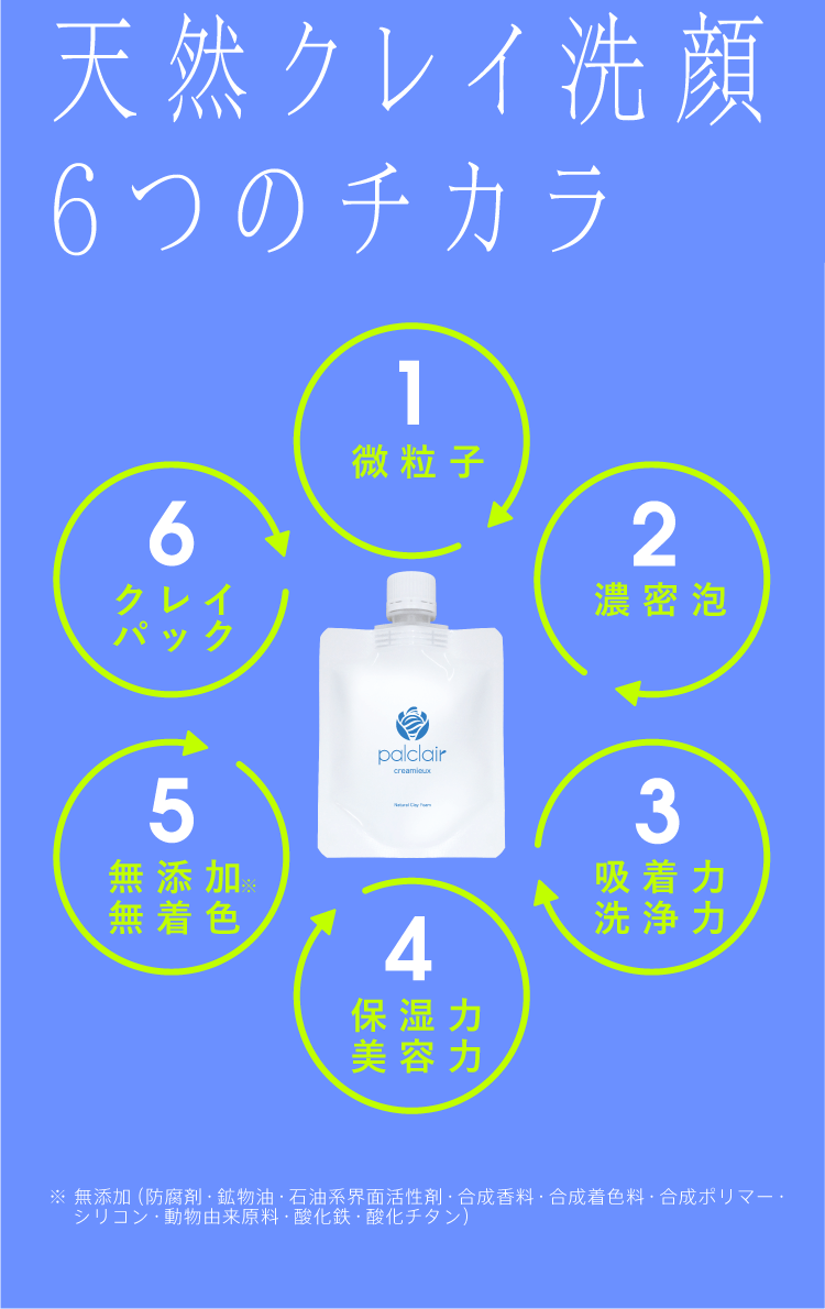 5つのチカラペンタゴンマップ
